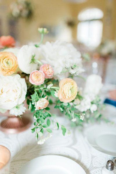 Indianapolis Wedding Planners Tara Nicole Weddings Rose Gold Wedding Inspiration Peach Wedding Flowers Wedding Flowers Summer