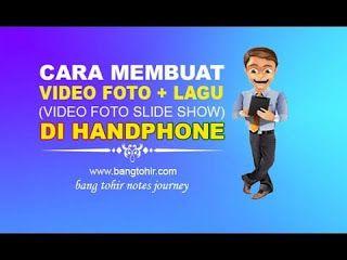 Cara Membuat Video Dari Foto Dengan Musik Di Android Video Lagu Musik