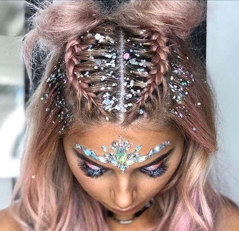 Fabulous Festival Makeup 💄 - #festivalmakeup
