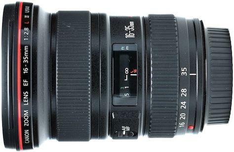 Rent A Canon 16 35mm F 2 8l Ii Canon Wide Angle Dslrs
