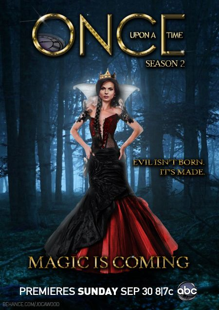 Once Upon A Time Evil Queen Poster Once Upon A Time Queen