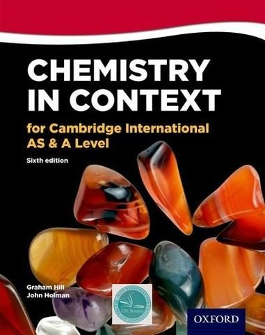 Chemistry In Context For Cambridge International As A Level 6th Edition Cie Source Chemistry Biology Notes Cambridge Curriculum