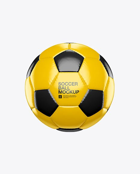 Download Glossy Soccer Ball Mockup In Object Mockups On Yellow Images Object Mockups Mockup Free Psd Mockup Free Download Mockup Psd