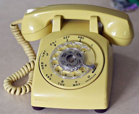 Old rotary phone... You could NEVER win anything off the radio with these phones!