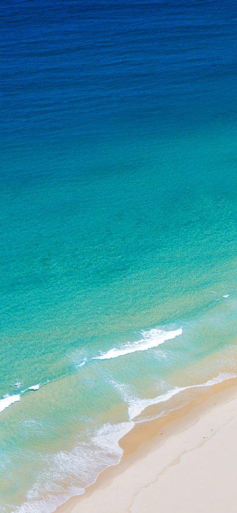 Download Lg G7 Thinq Wallpapers 19 4k Wallpapers Droidviews Beach Wallpaper Beach Beautiful Nature