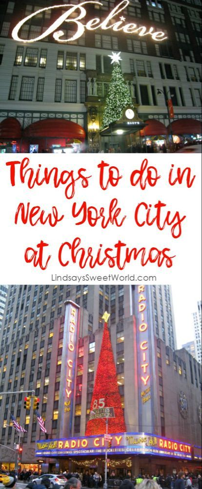 Things To Do In New York City At Christmas 2020 Things to do in New York City at Christmas in 2020   New york city