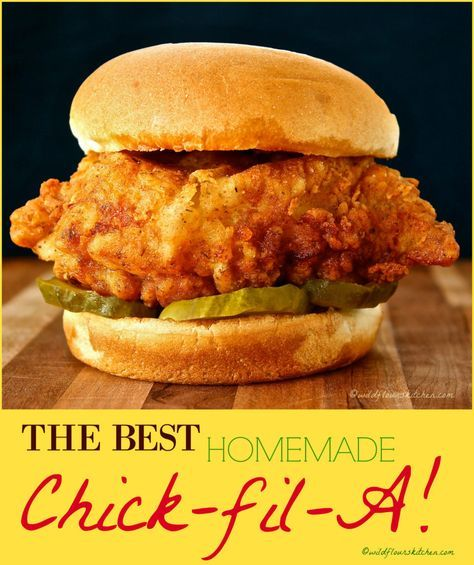 Marvelous Best Copycat Chick-fil-A Sandwich (And their Mayo!) – Wildflour's Cottage Kitchen The post Best Copycat Chick-fil-A Sandwich (And their Mayo!) – Wildflour's Cottage Kitchen appeared first on Recipes . Chick Fil A Sandwich, Chicken Sandwich Recipes, Sandwich Ideas, Fried Chicken Sandwich, Sandwich Bar, Sandwich Spread, Recipe For Sandwich, Homemade Chicken Burgers, Crispy Chicken Burgers