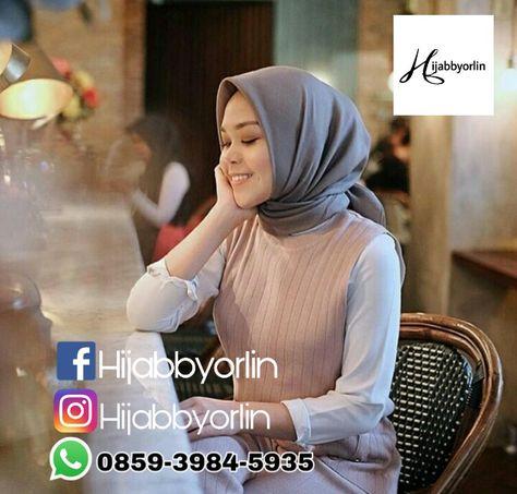 Hijab Bahan Voal Polos 85
