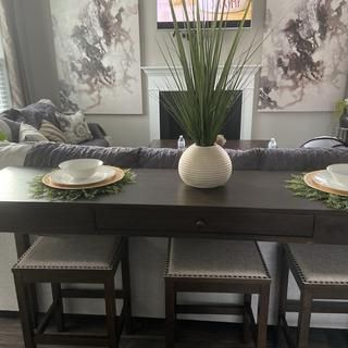 41++ Rokane counter height dining room table and bar stools Top
