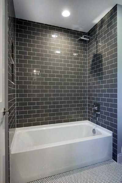 Top 60 Best Bathtub Tile Ideas Wall Surround Designs Bathroom Design Small Bathroom Remodel Bathtub Remodel