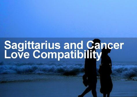 cancer woman and sagittarius man sexually