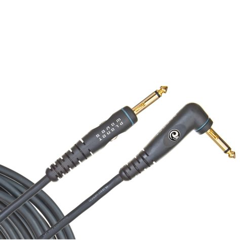 """18.5 FT BLUE Woven Instrument GUITAR Cable CORD Effect Patch Gold Tip 1//4/"""" Plugs"""