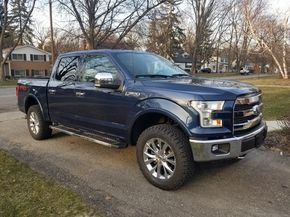 285 60r20 In Inches >> Gregdonttread S 2015 Ford F150 4wd Supercrew With 285 60r20