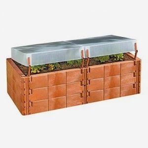 Juwel Hochbeet 2 In 1 Krauterbeet Mit Thermohauben Warmeisolierend Witterungs Und Frostbestandig Variab Outdoor Storage Box Outdoor Decor Outdoor Furniture