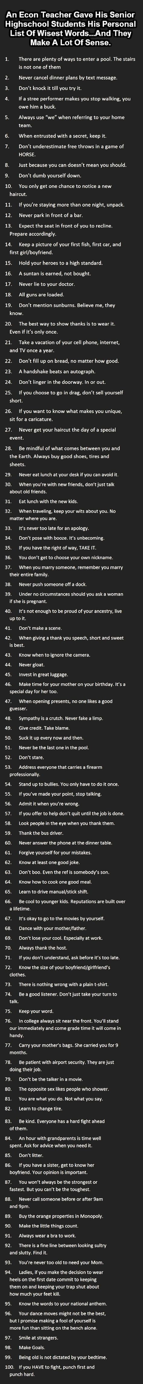Solid advice - I love this. (Hate the typos, though.)