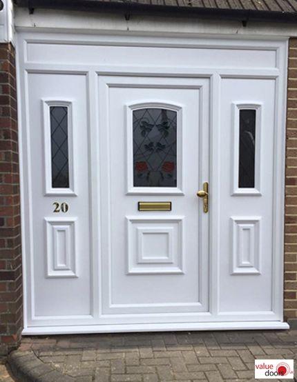 Upvc Front Door In 2020 Upvc Upvc Front Door Cheap Front Doors