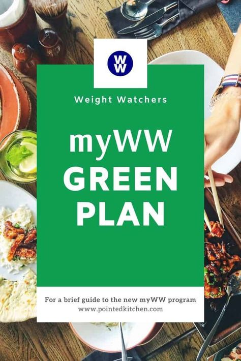 Looking for information about the new Weight Watchers Green plan? Find out more about each of the myWW plans and recipes that fit in with each of the WW plans. Plan Weight Watchers, Weight Watchers Vegetarian, Weigh Watchers, Weight Watchers Smart Points, Weight Watchers Chicken, Weight Watchers Desserts, Vegetarian Food, Vegetarian Sandwiches, Going Vegetarian