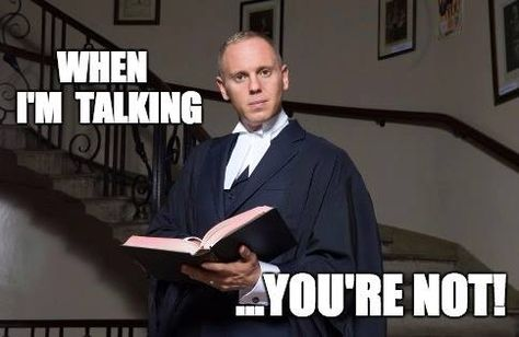 Image result for judge rinder im talking your not listening gif