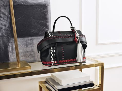 347732dae42 Cosmopolitan elegance in the new Tod s Wave Bag. Explore the Fall Winter  2016-17 Collection and find your Fall must-have at tods.com  TodsWaveBag   FW17