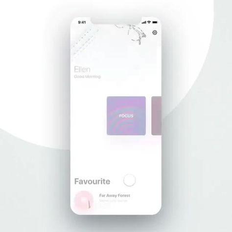 App prototyping micro-interaction