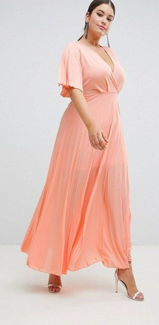 30 Plus Size Summer Wedding Guest Dresses With Sleeves Plus Siz Plus Size Wedding Guest Dresses Wedding Guest Outfit Summer Plus Size Wedding Guest Outfits