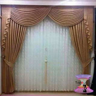 احدث كتالوج صور ستائر صالونات بتصميمات مودرن وكلاسيك 2020 Curtain Decor Drapery Designs Curtain Designs
