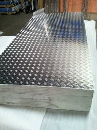 5 Bar Tread Aluminum Sheet Brite Finish 3003 H22 Shop Buy Now Aluminium Sheet Five Bar Diamond Plate