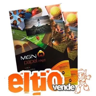 papel fotografico glossy 180 gr x 20 hojas - mgn