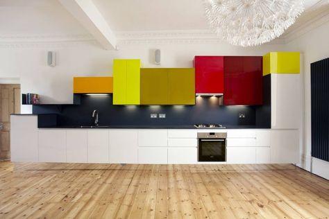 Coloriidea - Linea Legno Cucina rinnovata con i colori per legno ad ...