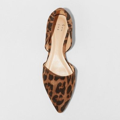 Rebecca Pointed Two Piece Ballet Flats