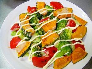 かぼちゃ ブロッコリー サラダ