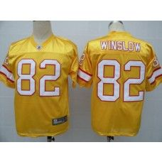 Buccaneers 82 Kellen Winslow Yellow Stitched Nfl Jersey Nfl Green Bay Green Bay Packers Jerseys Jersey