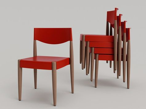 Virna chair object sedie legno and design