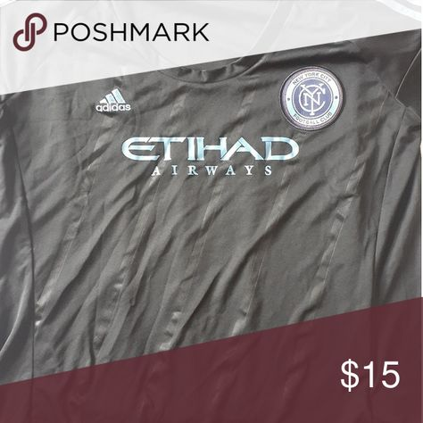 NYCFC Womens Jersey Black NYCFC Jersey Womens Black. New.   Just don't need it anymore. Any questions please ask me adidas Other