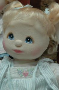 ...my child doll!!! i HAD to have this doll growing up & we got her at the Flora dime store! :) She smelled good! :) Memories! Love them!