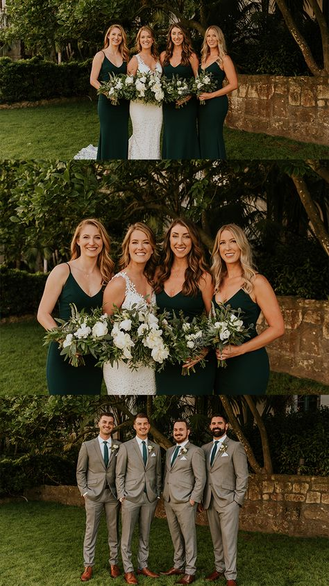 28 Unique Wedding Ideas- 100 Ideas for Fall Weddings Emerald Green Weddings, Forest Green Weddings, Emerald Wedding Colors, Santa Barbara Courthouse Wedding, Wedding Bridesmaid Dresses, Forrest Green Bridesmaid Dresses, Emerald Green Bridesmaid Dresses, Bridesmaid Dress Colors, Before Wedding