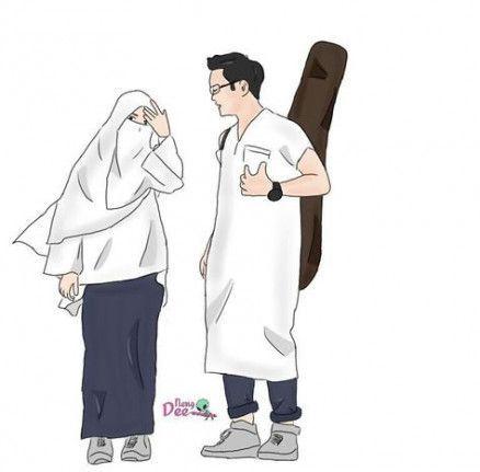 550 Koleksi Gambar Kartun Muslimah Anak HD