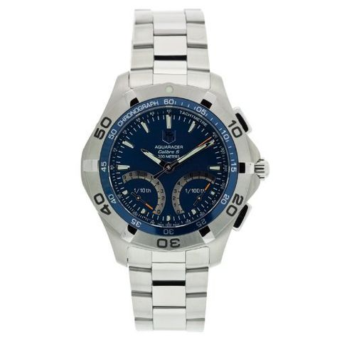 TAG Heuer Men's CAF7012.BA0815 Aquaracer Calibre S Chronograph Watch by TAG Heuer @ TAG-Heuer-Watches .com