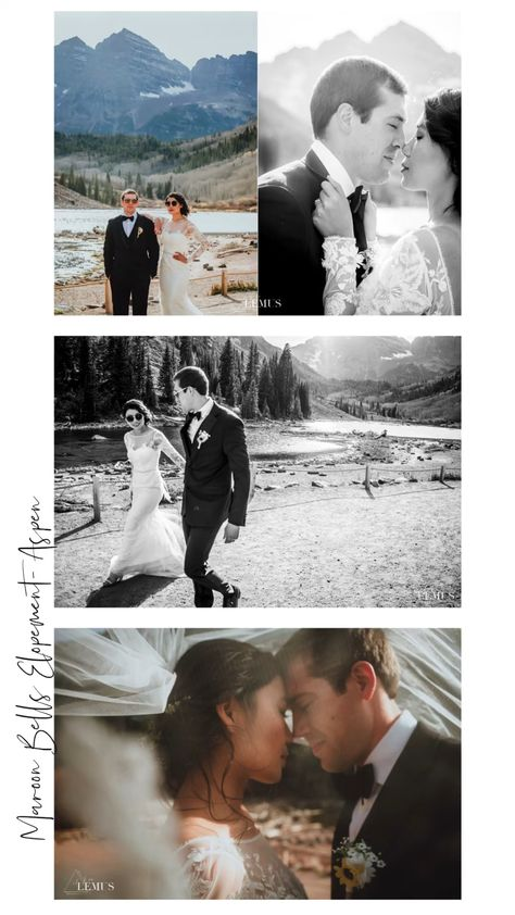 Maroon Bells Elopement - Aspen, CO