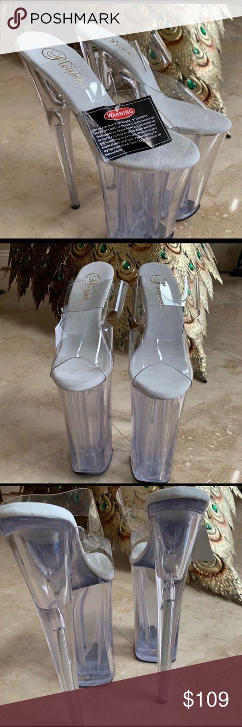 Pleaser Infinity Extreme Heel Pleaser Infinity Extreme Heel Shoes Heels