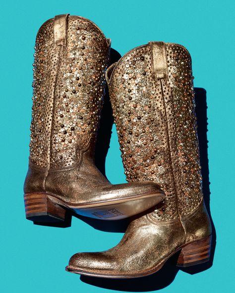 722ad68fc7c1 Frye Deborah Studded Tall Western Boot