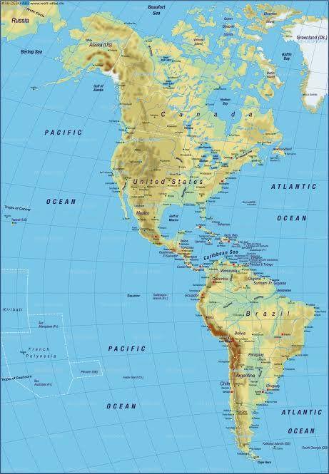 Pin Von Matthew Abebe Auf Geography Amerika Karte Usa Karte