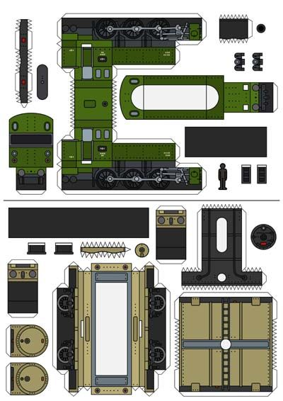 Pin By Vostal On Paper Model Paper Models Old Steam Train Paper Train