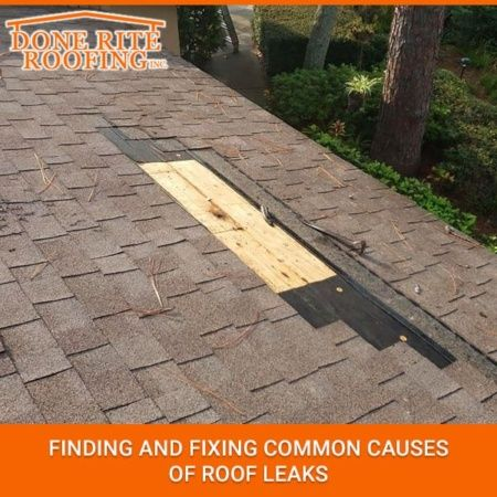 Finding And Fixing Common Causes Of Roof Leaks Leaking Roof Roof Repair Cost Roof