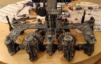 Games Workshop Sector Mechanicus Sacristan Forgeshrine Terrain Scenery