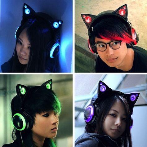 Increíblemente los auriculares del oído de gato populares Ahora aceptamos pre-ordenes