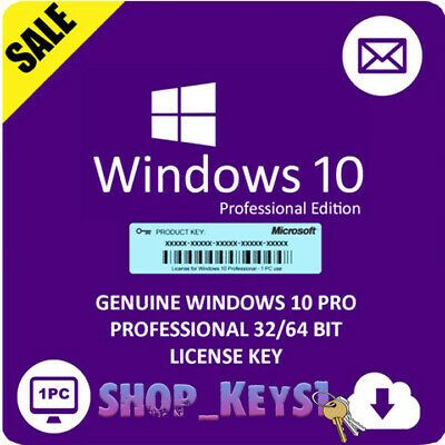 Ad Instant Microsoft Windows 10 Pro Professional 32 64 Bit License Key Activation In 2020 Microsoft Windows Microsoft Sale Windows