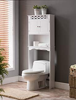 Amazon Com Bathroom Storage Cabinet Over Toilet Bathroom Space