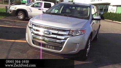 Kansas City Ford Dealers >> Kansas City Mo 2014 Ford Edge For Sale Bonner Springs Ford
