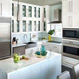 Findley U0026 Myers Malibu White Cabinets To Go Www.cabinetstogo.com | Kitchen  Design: Lemon Motif With White Kitchen Cabinets | Pinterest | White  Cabinets, ...